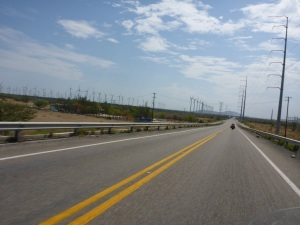 Wind farms in Mexico