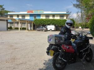 Our hotel in Matias Romero Avendano, Mexico