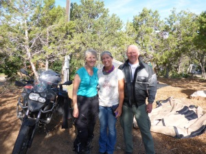 Elaine and Dave at KOA campground