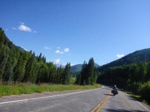 Heading to Lizard Head Pass