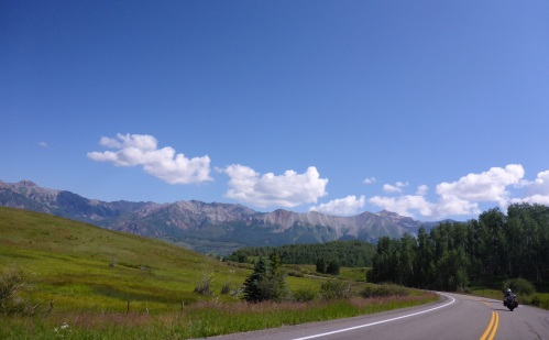 Heading up to Telluride