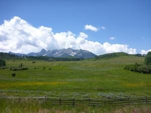 San Juan Mountains from CO62