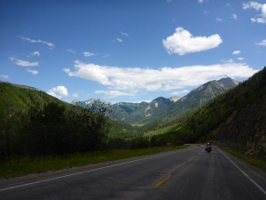 Just over McClure Pass