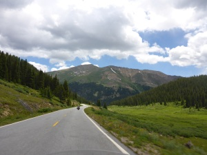 Independence Pass road, Colorado