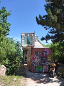 Container house in Boulder