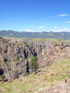 Royal Gorge bridge, west of Cañon City, Colorado