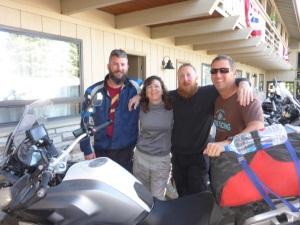 Alex, Petra, John and Domenic