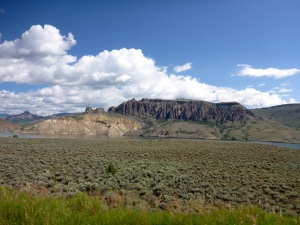 Leaving Gunnison, on US50