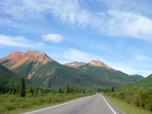Red Mountain on the Million Dollar Highway