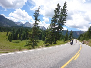 Million Dollar Highway at Silverton - fabulous bike riding road