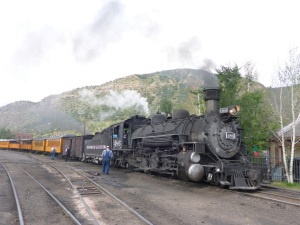 Our Durango-Silverton Rail Road train