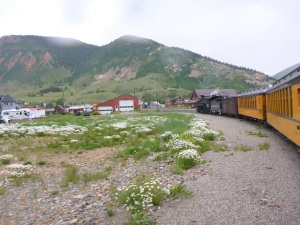 Arriving into Silverton
