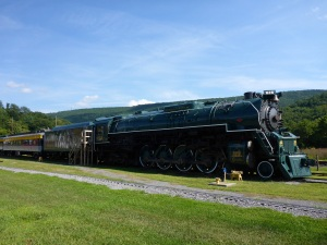Chesapeake & Ohio 614 4-8-4 steam locomotive made by Lima in 1948