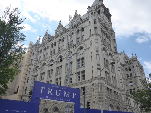 Post Office being converted to a 'Trump' Hotel