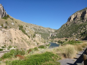 Wind river canyon, a great ride.
