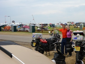 Our camping spot at Buffalo Chip!!
