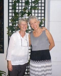 Anne with Suzun, New York at Ladurée restaurant