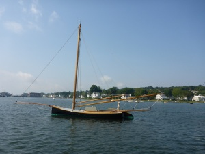 Annie, a sandbagger sloop built in 1880