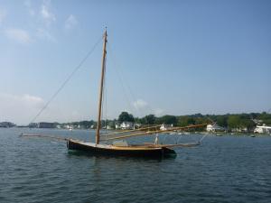Annie, a sandbagger sloop built in 1880