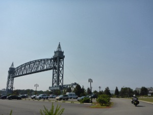 Buzzards Bay lift bridge over the Cape Cod canal