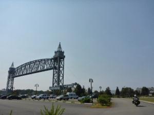 Buzzards Bay lift bridge over the Cape Cod canal