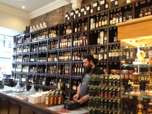 Whisky & Wine store in Edinburgh