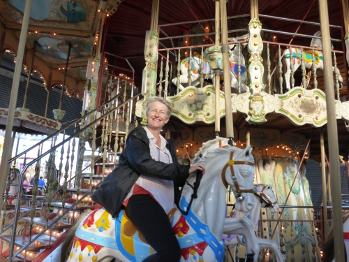 Ahh, childhood memories - loving this stunning carousel in Blackpool