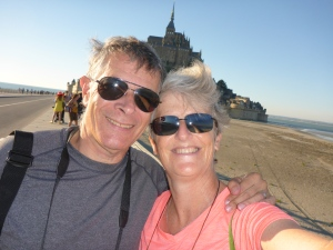 We made it to the Mont-Saint-Michel!