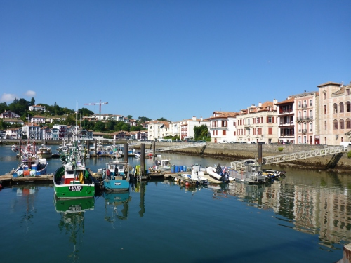 Saint-Jean-de-Luz port