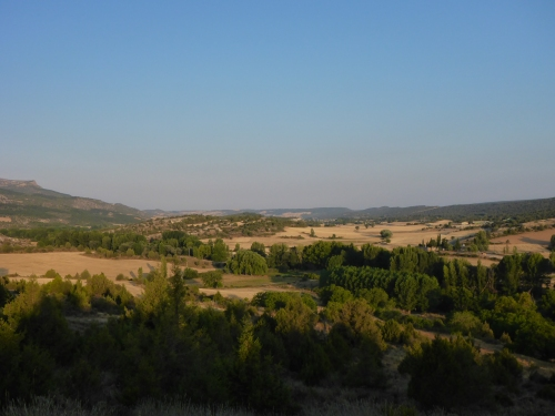 View from Santo Domingo de Silos, Spain