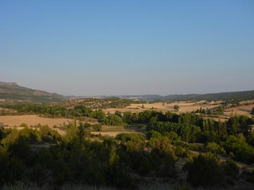 View from Santo Domingo de Silos, Spain