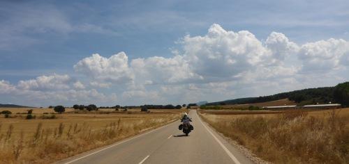 On our way to Santo Domingo de Silos, Spain
