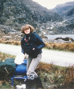 Our first camping holiday together,  in Ireland in 1977