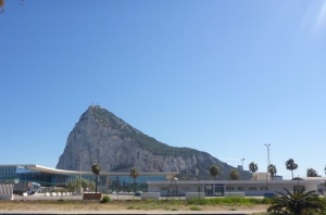 Approach to Gibraltar.
