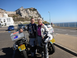 Two slow speeds at Europa point.