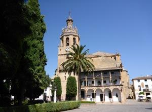 Plaza de la Duquesa de Parcent, Ronda, Spain