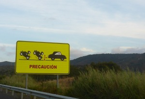 Found on all the twisty roads in Andalucia