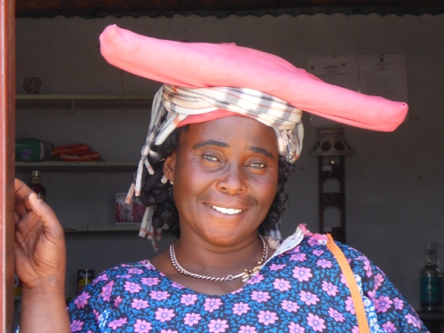 Maria, Orupembe Shop 1 owner's wife