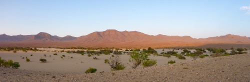 Hoarusib river valley near Mount Himba Sphinx where we 'wild camped'