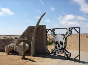 Skeleton Coast southern gate