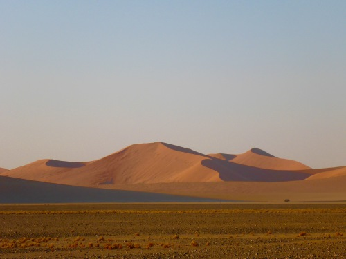 Sunrise over the Sossusvlei, Namibia