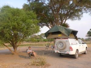 Our campsite, Dijara, Botswana