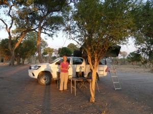 At Dijara camp, Botswana