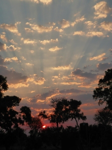 Another gorgeous sunset, Botswana