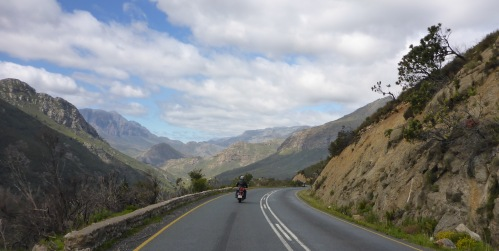Down du Toitskloof Pass, South Africa