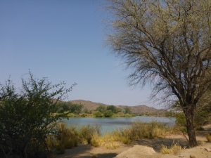 Along the Kunene river