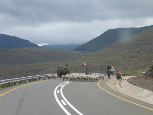 Road traffic in Lesotho