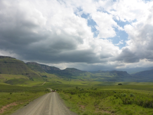 The majestic Drakensburg