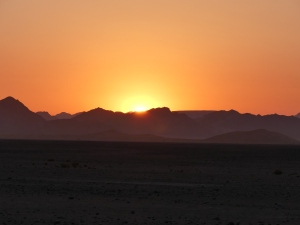 Sunrise at Sossusvlei