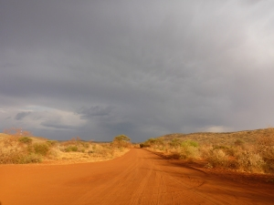 Leading up to Red Sands Lodge, South Africa
